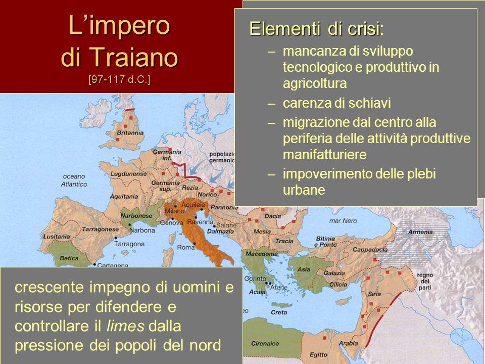 L'impero di Traiano [97-117 d.C.]